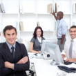 Stock Photo: Business working in office