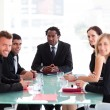 Business in a meeting — Stock Photo #10826449