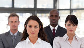 Portrait of confident business looking at the camera — Stock Photo