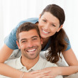 Portrait of a lovely couple — Stock Photo #10839489