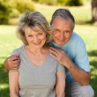 Portrait of a lovely senior couple — Stock Photo #10849720