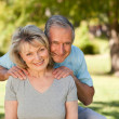Portrait of a lovely senior couple — Stock Photo #10849724