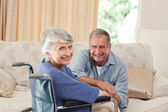 Mature couple looking at the camera — Stock Photo