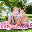 Mother and daughter having fun — Stock Photo #10856784