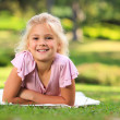Little girl in the park — Stock Photo #10857181