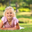 Little girl in the park — Stock Photo #10857184