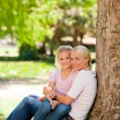 Stock Photo: Lovely mother with her daughter