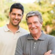 Father with his son looking at camera — Stock Photo #10858874