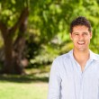 Man in the park — Stock Photo #10859861