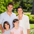 Family in the park — Stock Photo #10859934