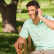 Young handsome man phoning — Stock Photo #10860847