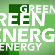 Royalty-Free Stock Photo: Creative image of green energy concept