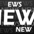Creative image of news concept — Foto Stock
