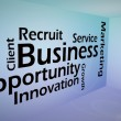 Creative image of business opportunity concept — Foto de Stock
