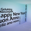 Creative image of happy new year concept — Stock Photo