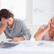 Couple in great despair — Stock Photo