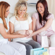 Charming Women having a baby-party - Foto Stock