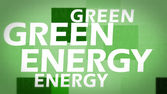 Creative image of green energy concept — Foto de Stock