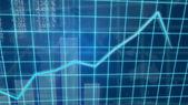 Creative image of economic growth concept — Stock Photo