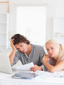 Worn out couple — Stock Photo