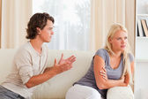 Young couple arguing — Stock Photo