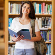 Portrait of a student holding a book — Stock Photo #11190572
