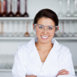 Young scientist posing — Stock Photo