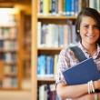 Royalty-Free Stock Photo: Portrait of a student posing with a book