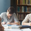 Members of study group working — Stock Photo #11191738