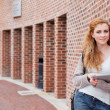 Student with a tablet computer — Stock Photo #11192485