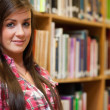 Close up of a young female student — Stock Photo