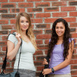 Beautiful students posing — Stock Photo #11193737