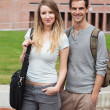 Portrait of a charming couple posing — Stock Photo #11193824