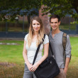 Young couple posing — Stock Photo #11193852