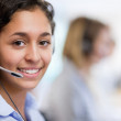 Close up of a customer assistant — Stock Photo #11194016
