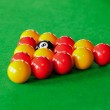 Close up of billiard balls — Stock Photo #11194227