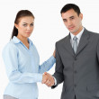 Business partners closing a deal — Stock Photo