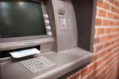 Close up of an ATM — Stock Photo