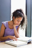 Portrait of a student preparing the examination — Stock Photo