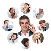 Illustration about business communication — Stock Photo