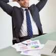 Stock Photo: Portrait of satisfied sales person
