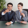 Stock Photo: Business negotiating