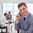 Sales manager on the phone — Stock Photo #11208435