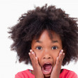 Close up of a shocked girl — Stock Photo #11208956