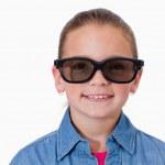 Girl wearing sunglasses — Stock Photo #11209051