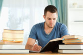 Student preparing for exam — Stock Photo