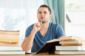 Student in thoughts — Stock Photo