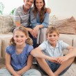 Portrait of a family posing — Stock Photo #11210688