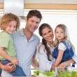 Happy family posing — Stock Photo #11211189