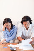 Couple having financial problems — Stock Photo